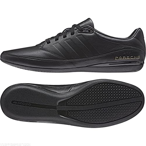 huge selection of db56a 4a363 Adidas Originals Porsche Design Typ 64 2.0 M20586 Black Leather Men s Shoes  (Size ...