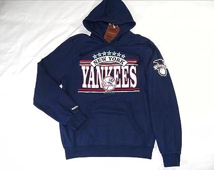 New York Yankees Mitchell & Ness sudadera con capucha sudadera tamaño L