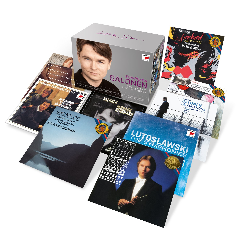Esa-Pekka Salonen-the Complete Sony Recordings - Salonen, Los ...