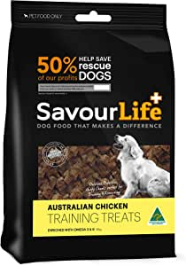 SavourLife Australian Chicken Training Treats, 165 Grams