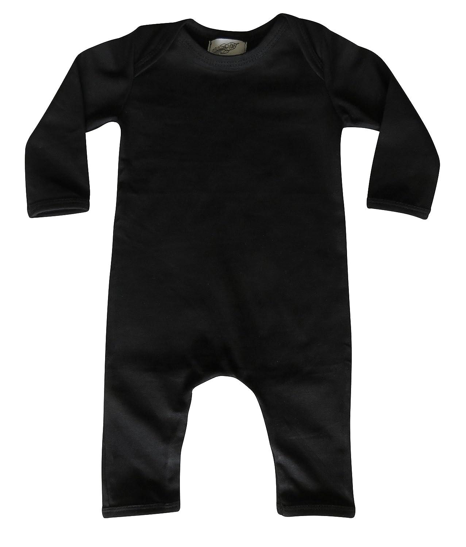 Black Long Sleeve Baby Romper