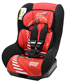 Disney E101 113 713 Carseat Safety Plus NT Cars Lightning McQueen 0
