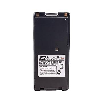 4 pcs BP-210N Battery for ICOM  IC-A24 IC-A24E ICOM IC-F30GT
