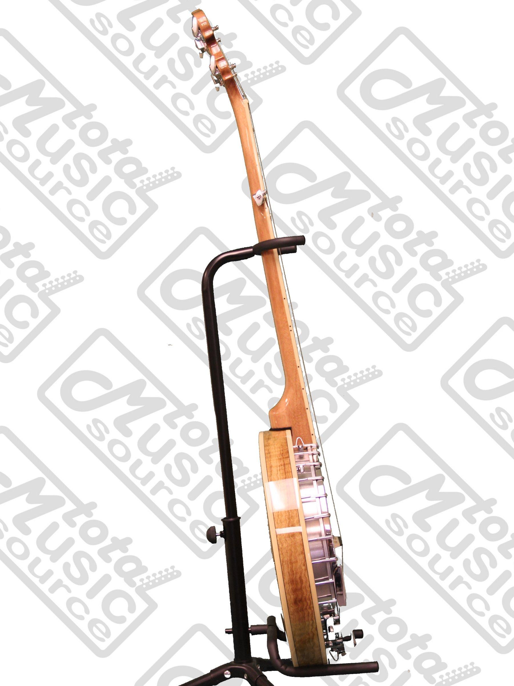 Oscar Schmidt OB5SP 5-String Banjo, Remo Head,Spalted Maple Resonator, Gloss Finish by Oscar Schmidt (Image #5)