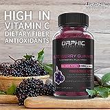 Natural Elderberry & Vitamin C Gummies - Premium