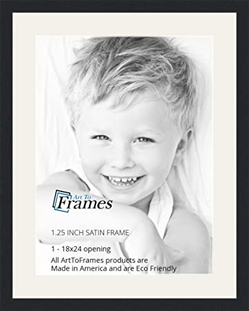 Amazoncom Arttoframes 18 X 24 Inch Opening Single Mat With A
