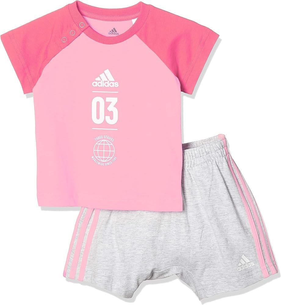 adidas I Logo Sum Set Chándal, Unisex bebé, Multicolor (rossua ...