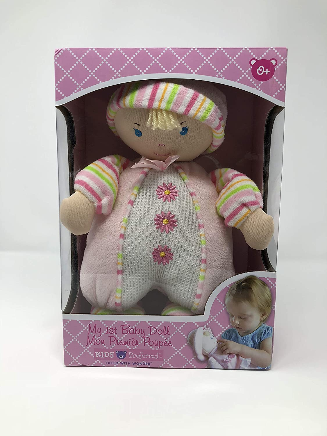Kids Preferred My 1st Baby Doll 10.5 Soft Doll in Various Outfits