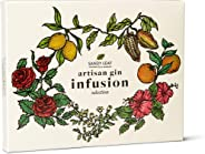 Sandy Leaf Farm Gin Infusing Kit for a Gin Lover - Infuses 1.4L of Gin with Four Artisan Spice and Tea Blends
