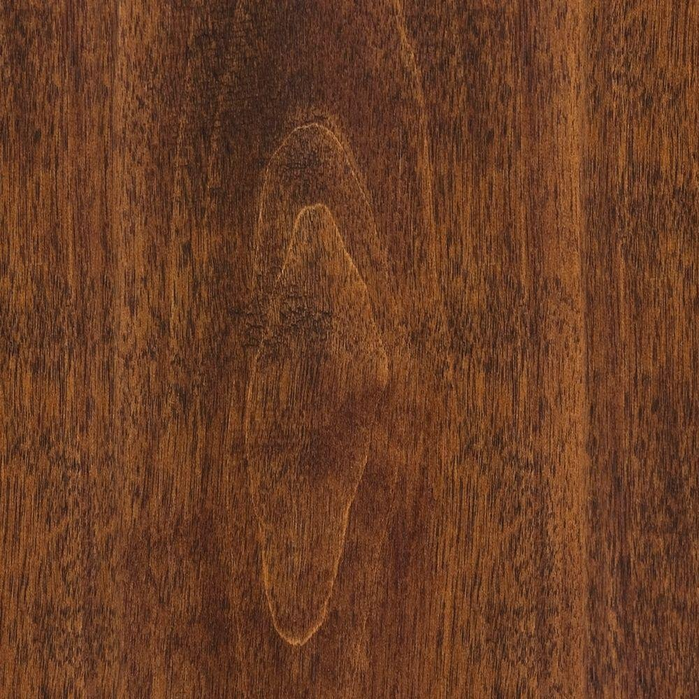Hand Scraped Birch Bronze 3/8 in. T x 4-3/4 in. W x 47-1/4 in. Length Click Lock Hardwood Flooring (24.94 sq. ft. /case)