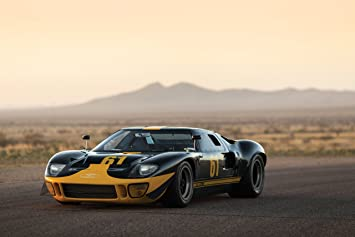 Classic And Muscle Car Ads And Car Art Ford Gt Le Mans Race