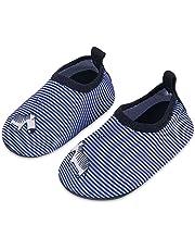 Lauwodun Baby Boys Girls Water Shoes Barefoot Aqua Sock Shoes Beach Pool Surfing Yoga Swimming Walking