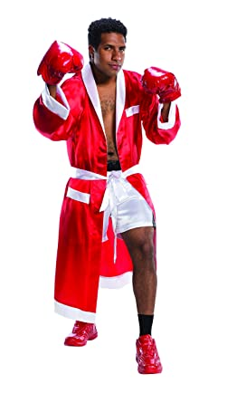 2cd7e838caf8 Amazon.com  Charades Men s The Boxer Costume  Clothing