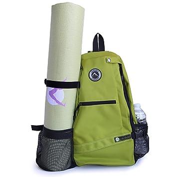 0e522ca07e Aurorae Yoga Mat Bag  Multi-Purpose Crossbody Sling Backpack  Good for  Hiking