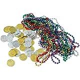 Beistle 50038 62-Pack Treasure Loot