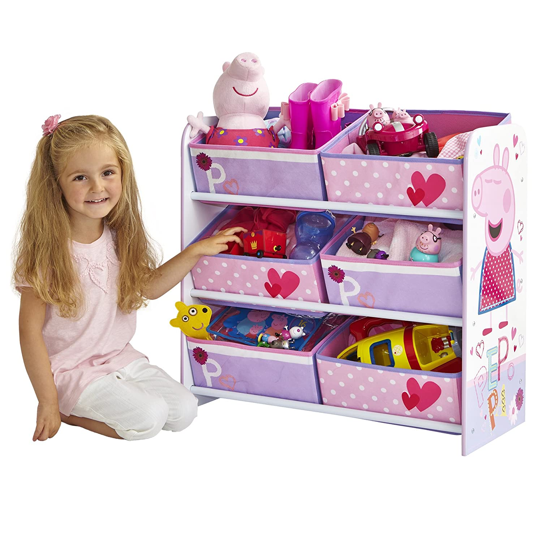 Peppa Pig 471pgg Unidad De Almacenamiento Para Ni Os Color Rosa  # Muebles De Peppa Pig