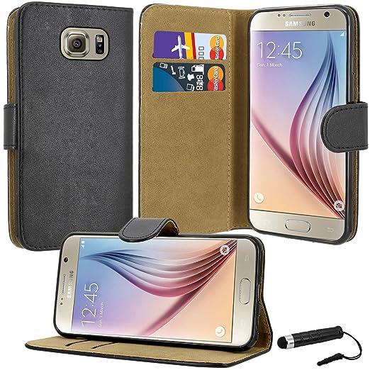 2 opinioni per Custodia a portafoglio in similpelle di eccezionale qualità, per Samsung Galaxy