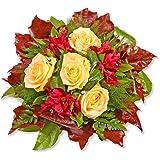 """Blumenstrauß Blumenversand """"Cappuccino"""" +Gratis Grußkarte+Wunschtermin+Frischhaltemittel+Geschenkverpackung"""