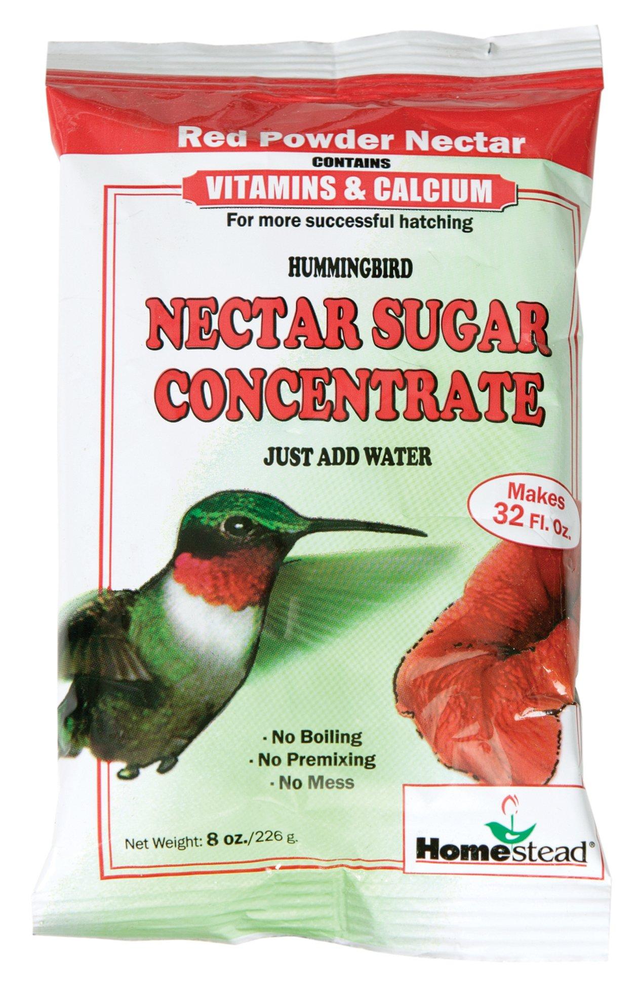 Homestead 8 oz Hummingbird Red Nectar Sugar Concentrate (Powder) - 4305