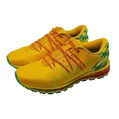 reputable site 80234 4ac70 ASICS Men's Gel-Quantum 360 Ko100 Sunflower Running Shoes-7 ...