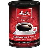 Melitta European Roast Coffee, Extra Dark Roast, Extra Fine Grind, 10.5 Ounce Can (Pack of 4)