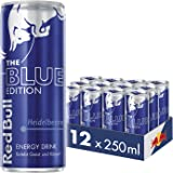 Red Bull Energy Drink Heidelbeere 12 x 250 ml Dosen Getränke Blue Edition 12er Palette