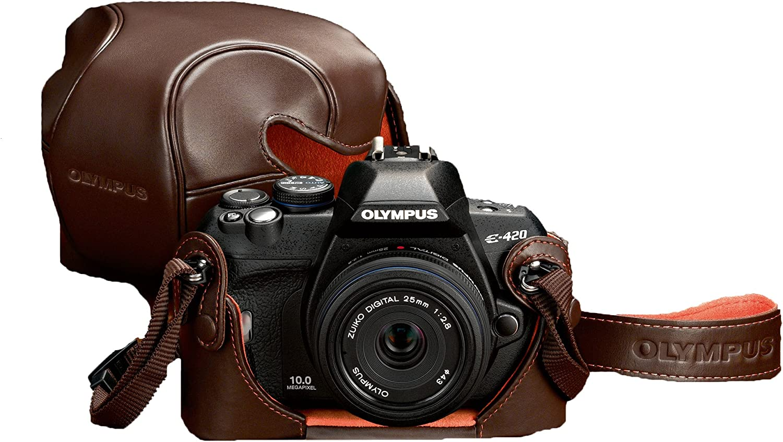 Olympus E-420 – Cámara réflex Digital (10 Mpx, Live View) Komachi ...