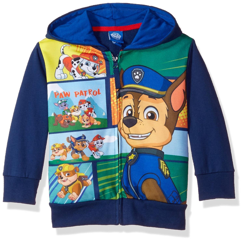 Nickelodeon Toddler Boys Paw Patrol Chase Hoodie, Navy, 2T HAPPY THREADS LLC PWB012HD