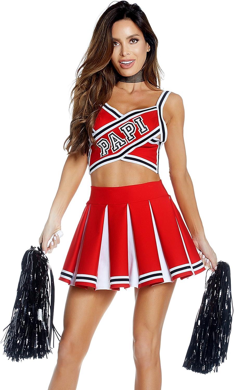 Papis Prize Sexy Cheerleader Costume