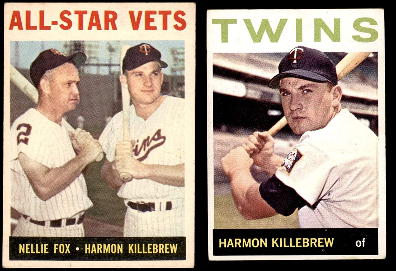 1964 Topps Minnesota Twins Team Set Minnesota Twins (Baseball Set) Dean's Cards 3 - VG Twins 81nCzmXHNELSL1500_