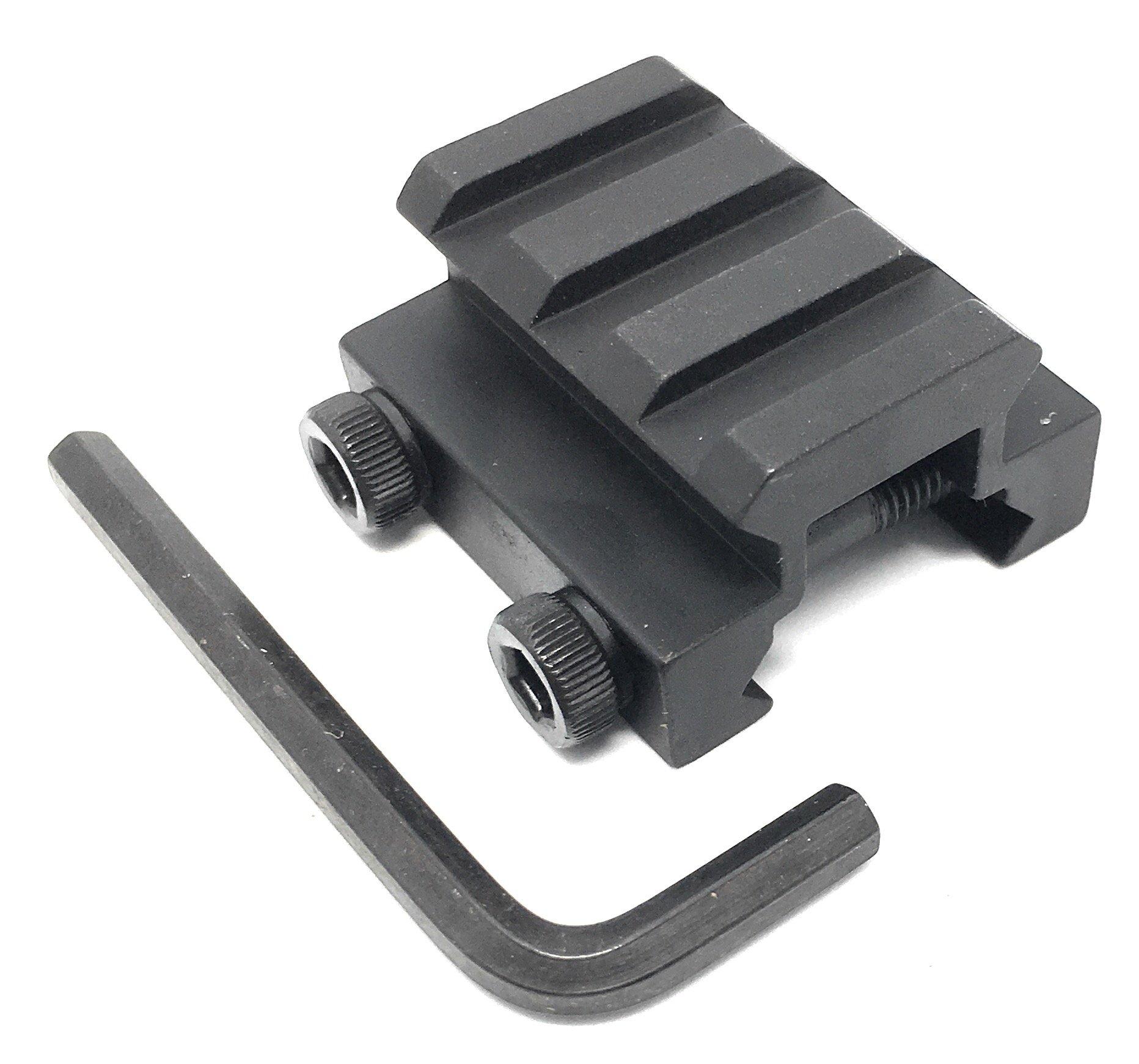 Dagger Defense single picatinny rail riser, 3x slots with hex screw mounting
