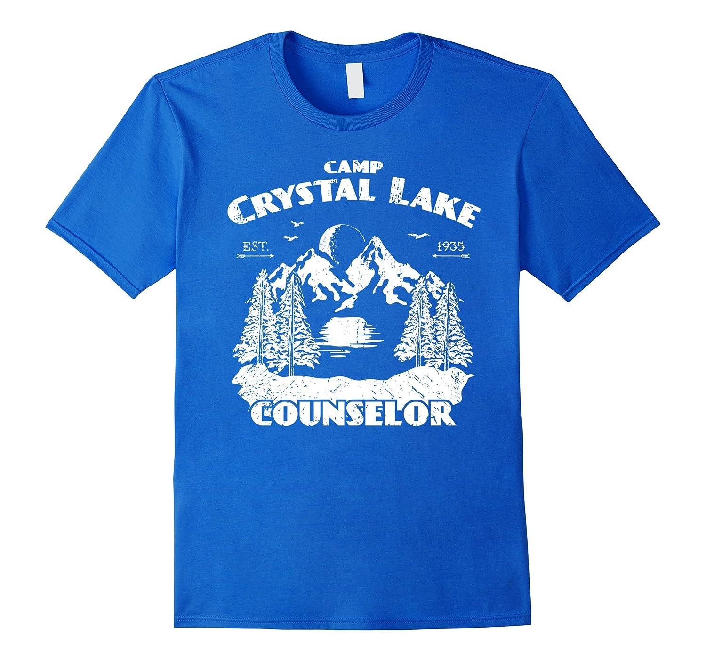 fdd1f8996cb Camp Camping Crystal Lake Counselor Vintage Gift T-Shirt-FL ...