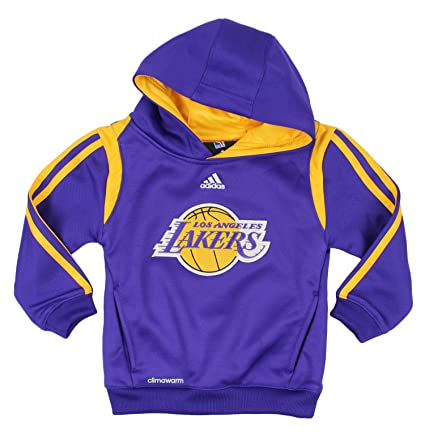 adidas Los ángeles Lakers NBA niños Little Boys On Court Sudadera con Capucha – Morado,