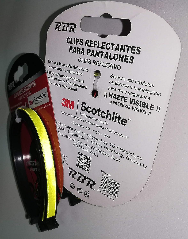 2UNDS RBR Clip Reflectante homolodado para Pantalones