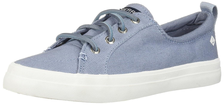 Crest Vibe Linen Sneaker B077P4VS18 8 B(M) US|Dusty Blue