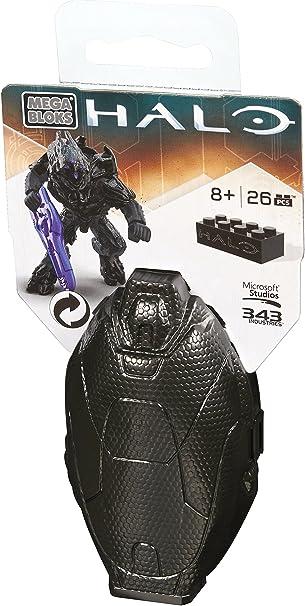 Mega Bloks Halo Drop Pod Series 4 Mini Figure Black Onyx DPP69 Construx Blocks