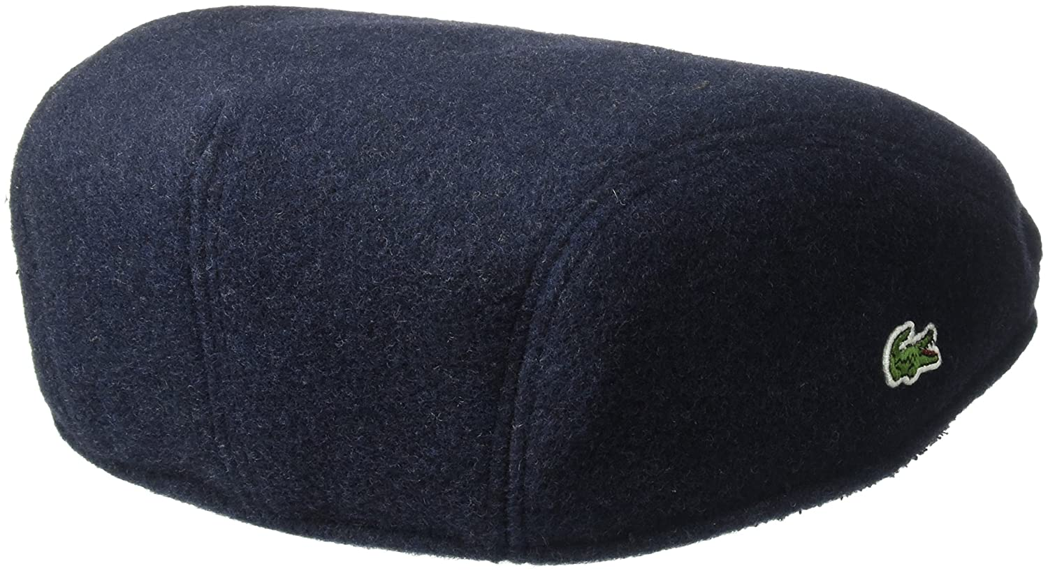 Lacoste Mens Wool Broadcloth Driver Cap