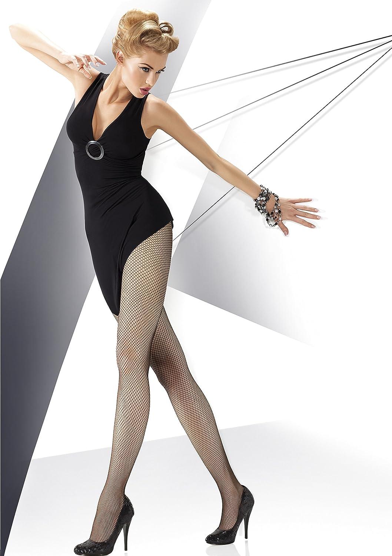 Annes bianco e naturale soffici calze a rete lusso super disponibile nero