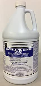 Restaurant Grade Food Safe Concentrated Sanitizer & Disinfectant - Makes 160 Gallons of Cleaner or More!