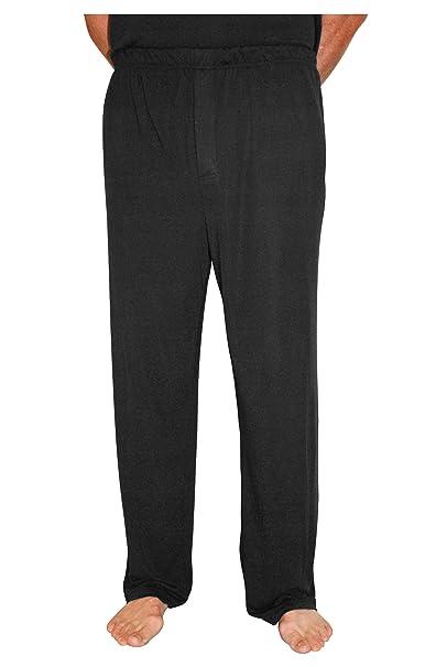 Cool-jams Wicking Sleepwear for Men – Moisture Wicking Pajama Pants – Medium, Black