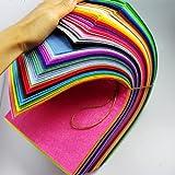 "CHENGYIDA 70- 11.8""X6"" Sheets Merino Wool blend Felt - (70 Assorted Colors)"