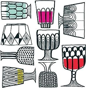 Ideal Home Range 20 Count Boston International 3-Ply Paper Lunch Napkins, Marimekko Kippis