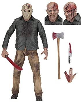 NECA Friday The 13th Parte 4 Jason Voorhees 1/4 Escala Figura de Acción: Amazon.es: Juguetes y juegos