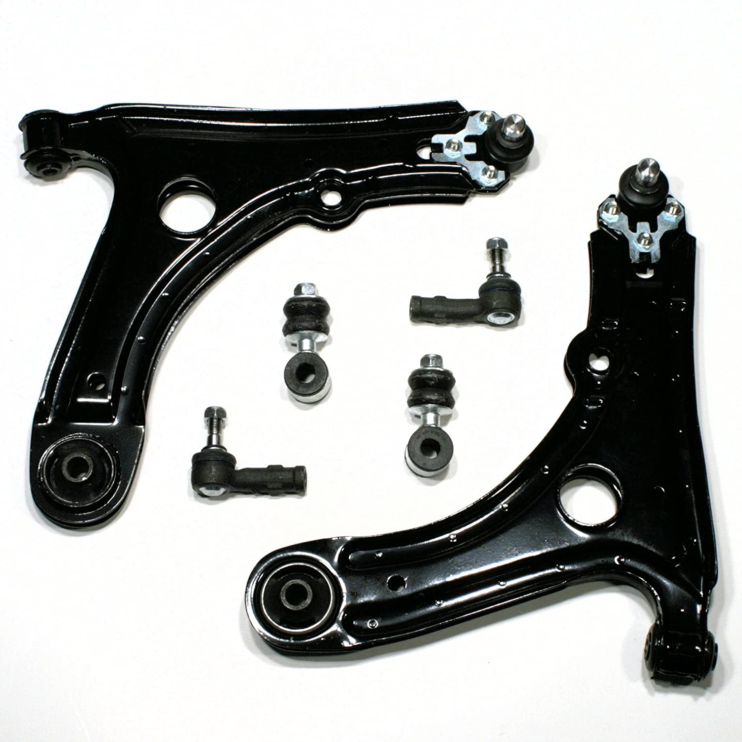 2 x Front Suspension Arms with Ball Joints + 2x Stabis + 2 x Tie Rod