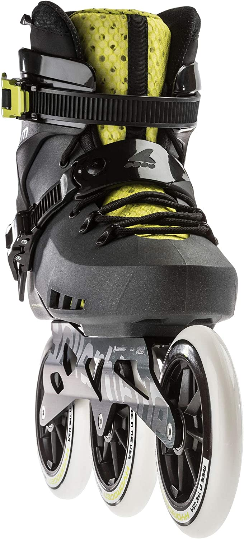Rollerblade MAXXUM Edge 90 Patines 265 Naranja//Zafiro Adultos Unisex
