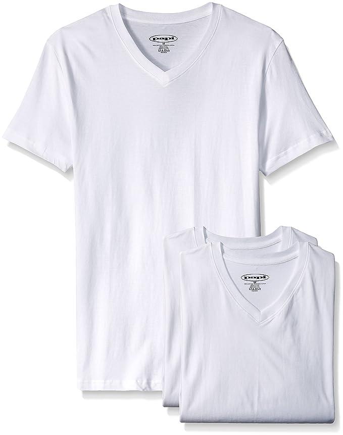 65c6fe5a32f938 Papi Men s 3-Pack Fitted V-Neck T-Shirt - 559104