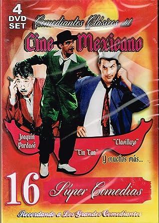 16 SUPER COMEDIAS DEL CINE MEXICANO DONA MARIQUITA DE MI CORAZON & EL BAISANO JALIL &
