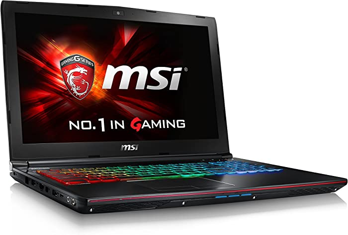 "MSI VR Ready GE62VR Apache Pro-001 15.6"" Powerful Gaming Laptop GTX 1060 i7-6700HQ 16GB 256GB M.2 SATA + 1TB Windows 10"