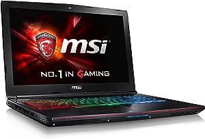 "MSI VR Ready GE62VR Apache Pro-001 15.6"" Powerful Gaming Laptop GTX 1060 i7-6700HQ 16GB 256GB M.2 SATA + 1TB Windows 10"