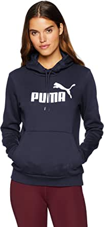 PUMA Women's Essentials Logo Hoody Fleece